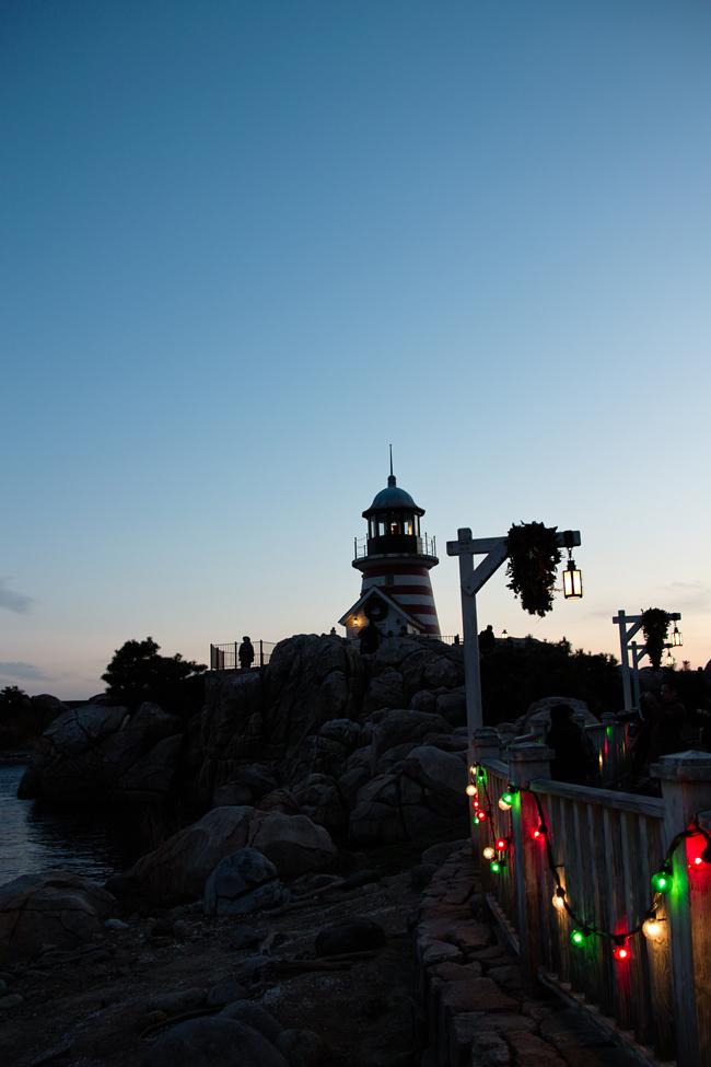 TokyoDisneySea ChristmasWishes2010~ケープ・コッドの街並み~_c0223825_2434278.jpg