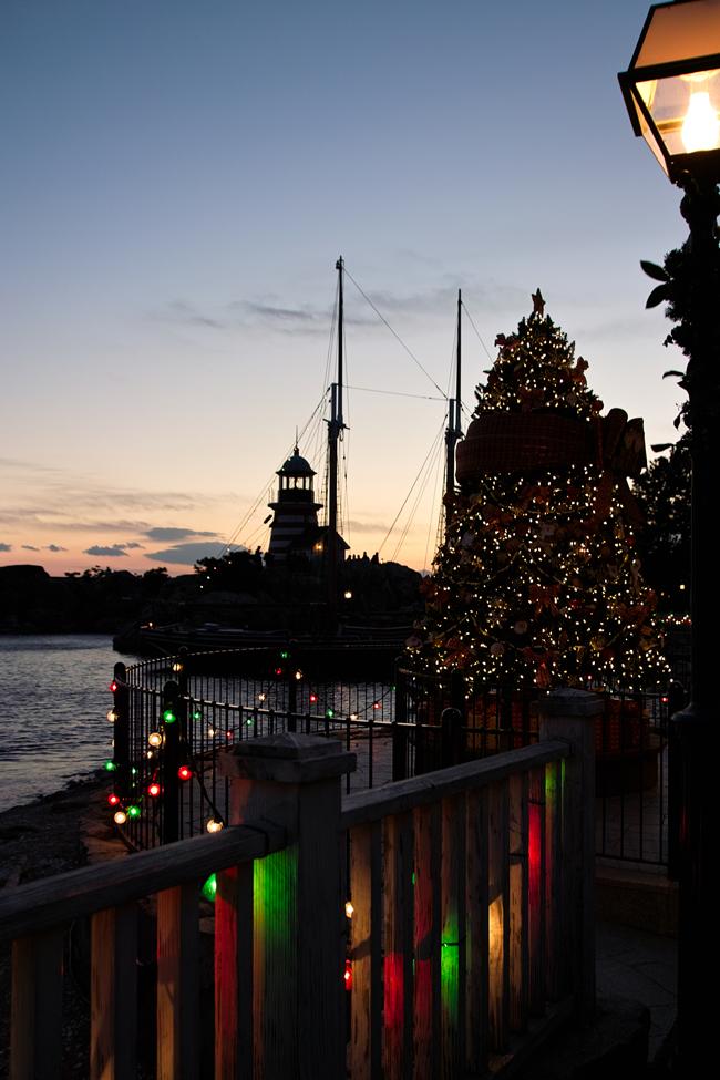 TokyoDisneySea ChristmasWishes2010~ケープ・コッドの街並み~_c0223825_2502257.jpg