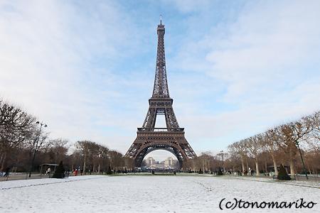 雪化粧のエッフェル塔_c0024345_18365914.jpg