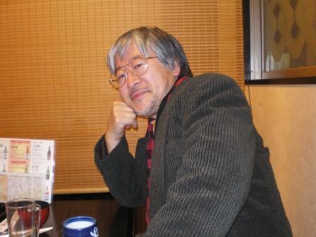 浅草で、西村春海氏とHさんとで、忘年会。_c0198869_22583091.jpg