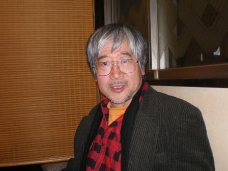 浅草で、西村春海氏とHさんとで、忘年会。_c0198869_22584393.jpg