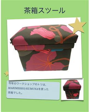 茶箱スツール_e0112378_167252.jpg