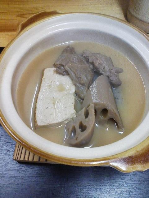 ◎蓮根おでんの農家食堂。手水鉢も凍る寒さ_c0061686_6393611.jpg