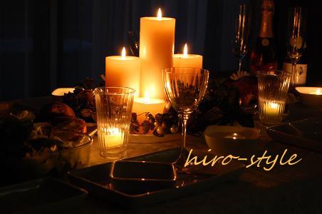 キャンドルdeクリスマス*_c0128886_1052279.jpg