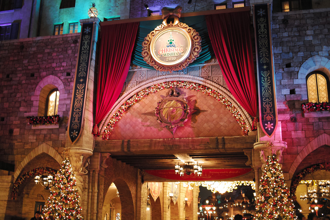 TokyoDisneySea ChristmasWishes2010~ディズニー・シーの素敵なショーと魅惑的な夜~_c0223825_10553875.jpg