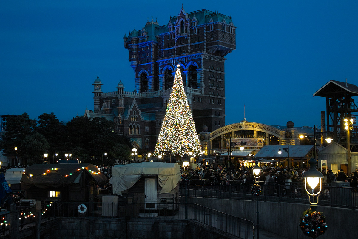 TokyoDisneySea ChristmasWishes2010~ディズニー・シーの素敵なショーと魅惑的な夜~_c0223825_8483359.jpg