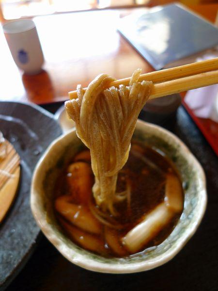 江戸っ子のように蕎麦を食う「手打ちそば 玄鹿(げんろく)」さん_d0108737_23324696.jpg