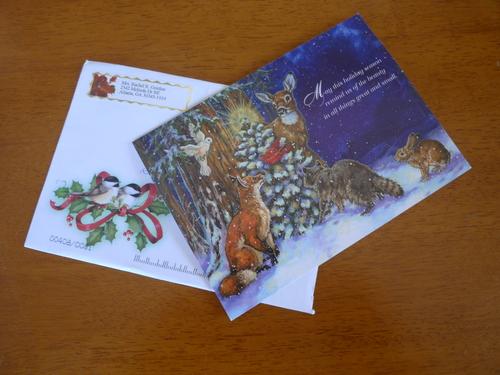 遅れて届いたクリスマスカード_d0193569_1133677.jpg