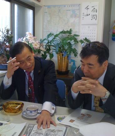 末松信介神戸事務所訪問_f0072976_15465752.jpg