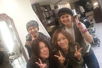new hair。とみ_f0174088_1684863.jpg