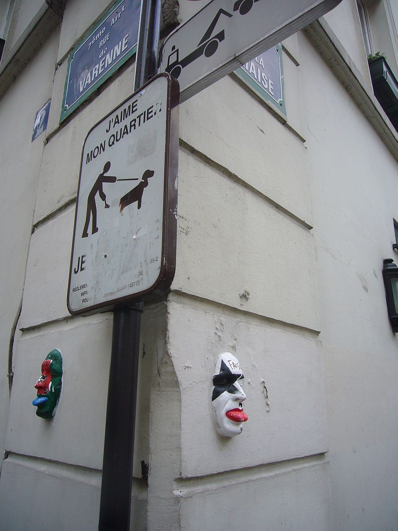【パリ】Street art、Space Invaders、落書き・・・(PARIS)_a0008105_1982356.jpg
