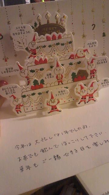 ねこさんからのクリスマス便(^^)_a0113430_2236713.jpg