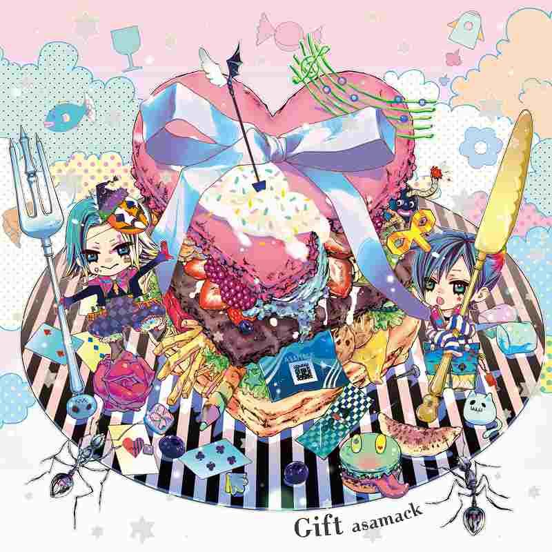 "Webラジオと歌で超人気の""あさまっく""初のCDリリース!『Gift 』/ あさまっく_e0025035_11194570.jpg"