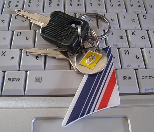 AIR FRANCEのキーホルダー_b0170184_11552513.jpg