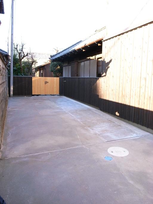 Sさんの家 車庫工事終了 2010/12/29_a0039934_16205723.jpg
