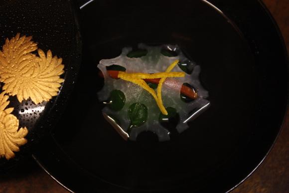 牡蠣とホウレン草の真丈_b0193555_15513920.jpg