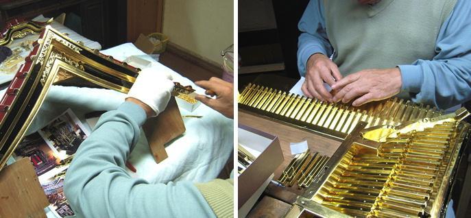 林幽寺のお厨子の修理 その19  屋根完成 2010.12.30_c0213599_2329512.jpg