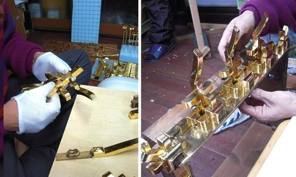 林幽寺のお厨子の修理 その19  屋根完成 2010.12.30_c0213599_2334224.jpg