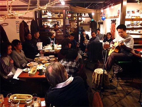 良かったですねぇ!南澤先生を囲んでの「ミニ・ライブ&忘年会」!_c0137404_16474787.jpg