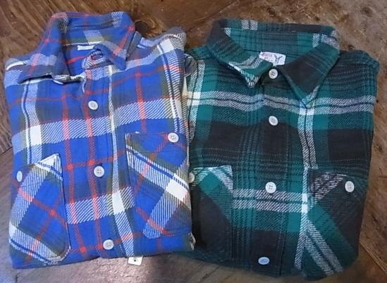 1月2日入荷商品!winter king ,plgrim などヘビーネルシャツ!_c0144020_108822.jpg