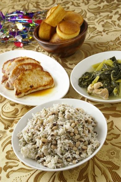 伝統的な南部の新年メニュー Traditional Southern New Year\'s Day Meal_d0166271_221017.jpg