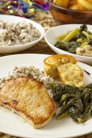 伝統的な南部の新年メニュー Traditional Southern New Year\'s Day Meal_d0166271_2241159.jpg