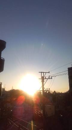 大晦日の朝日_b0206197_7534843.jpg