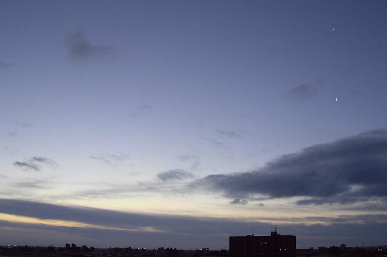 日の出前 2011年元日