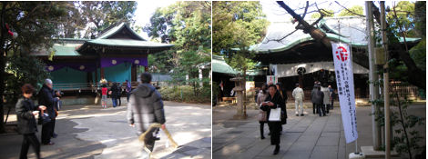 初詣&神社と狛犬その3・穏田神社_d0183174_15213075.jpg