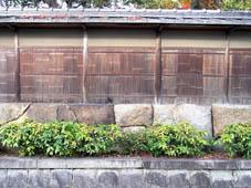 「京都の文化」 へえ~!って感動する塀_c0186689_21115477.jpg