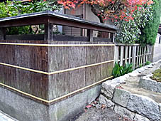 「京都の文化」 へえ~!って感動する塀_c0186689_21122479.jpg
