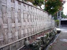 「京都の文化」 へえ~!って感動する塀_c0186689_2112822.jpg