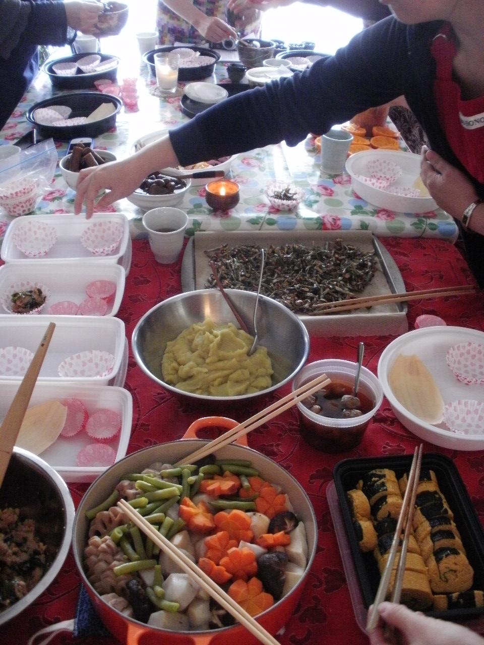 Osechi in NY お節クラスとお節料理のご紹介♪_f0095325_13485583.jpg