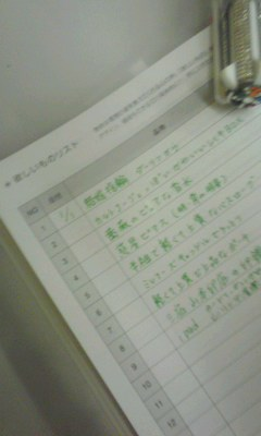 「シンクロ手帳2011」切り替えナビ⑪「欲しいものリスト」&「ワクワクリスト」 _f0164842_12212333.jpg