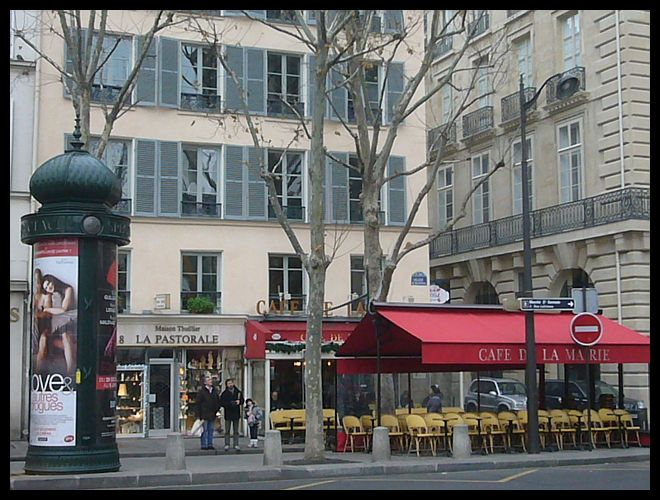 【パリ】年末:年始の街角のキャフェ・レストラン(Paris)_a0014299_17552132.jpg