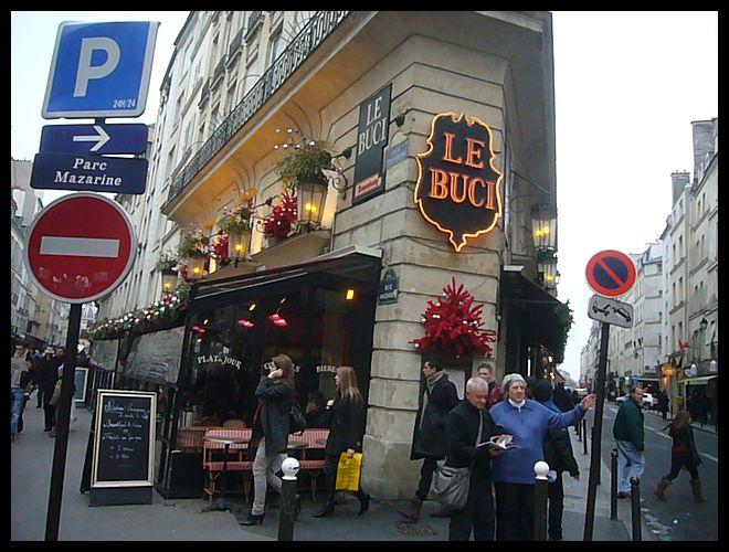 【パリ】年末:年始の街角のキャフェ・レストラン(Paris)_a0014299_1755553.jpg