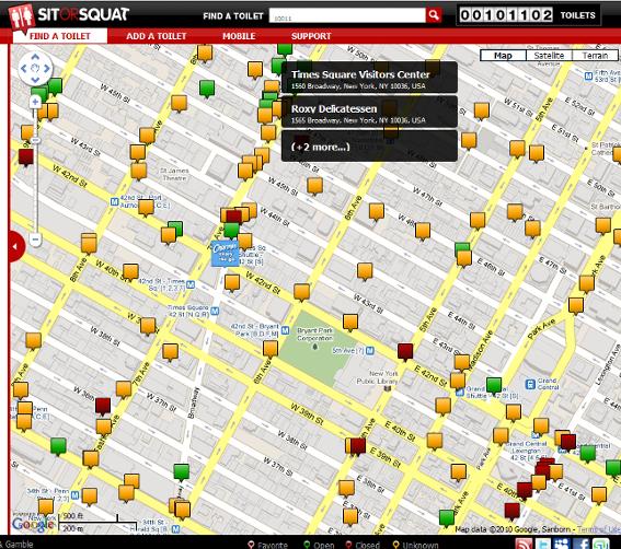 ニューヨークの公衆トイレ情報まとめ無料アプリ、SitOrSquat_b0007805_11104066.jpg