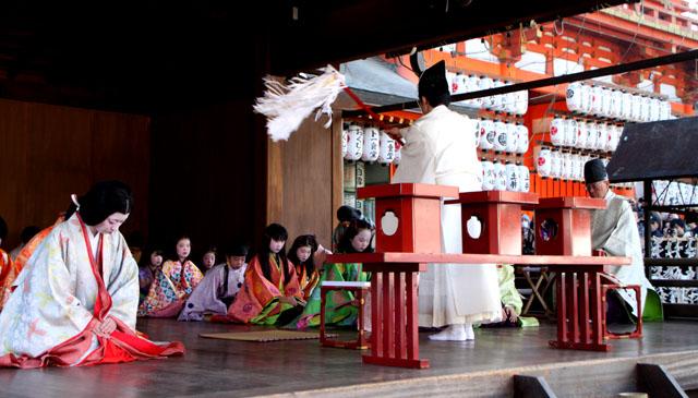 八坂神社 かるた始め式_e0048413_20194680.jpg