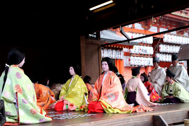 八坂神社 かるた始め式_e0048413_20203054.jpg