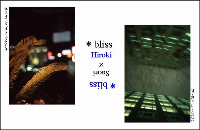 """The exhibition \""""*bliss\""""._a0073456_20442033.jpg"""