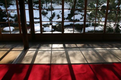 雪解けの大原 三千院_c0100195_22492981.jpg