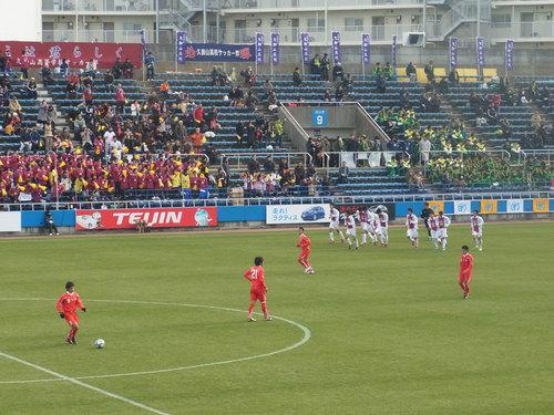 2011-01 高校サッカー選手権3回戦 那覇西vs久御山_e0006700_2112612.jpg