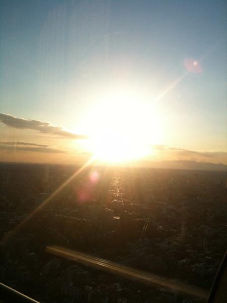 夕日を眺めて_e0100410_22152970.jpg