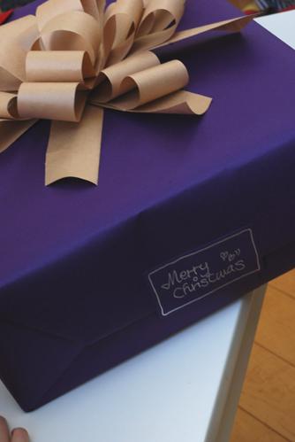 クリスマスプレゼントのラッピング_f0179528_202218.jpg