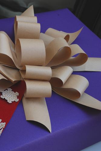 クリスマスプレゼントのラッピング_f0179528_2024566.jpg