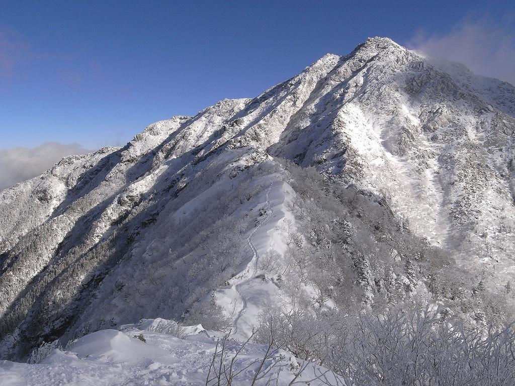 正月は甲斐駒ヶ岳詣で_b0133032_10581627.jpg