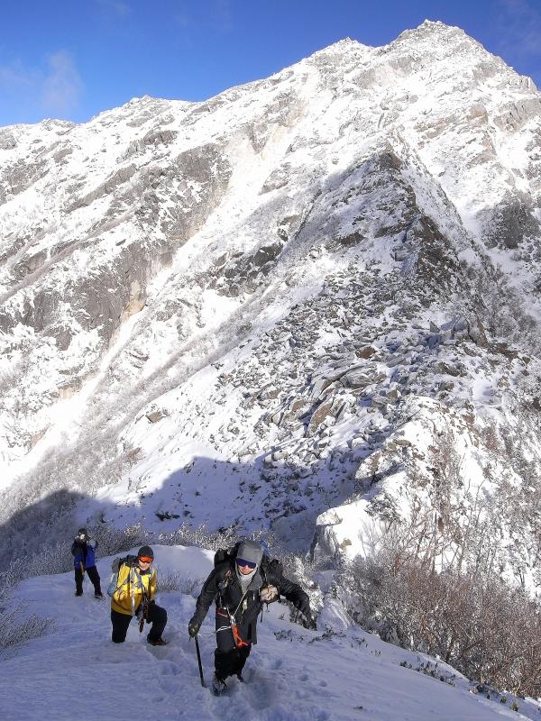 正月は甲斐駒ヶ岳詣で_b0133032_1058528.jpg
