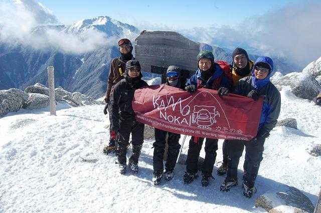 正月は甲斐駒ヶ岳詣で_b0133032_1059870.jpg