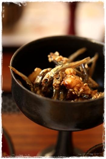 おせちレシピ☆トースターで簡単伊達巻と簡単田作り☆_b0165178_8342554.jpg