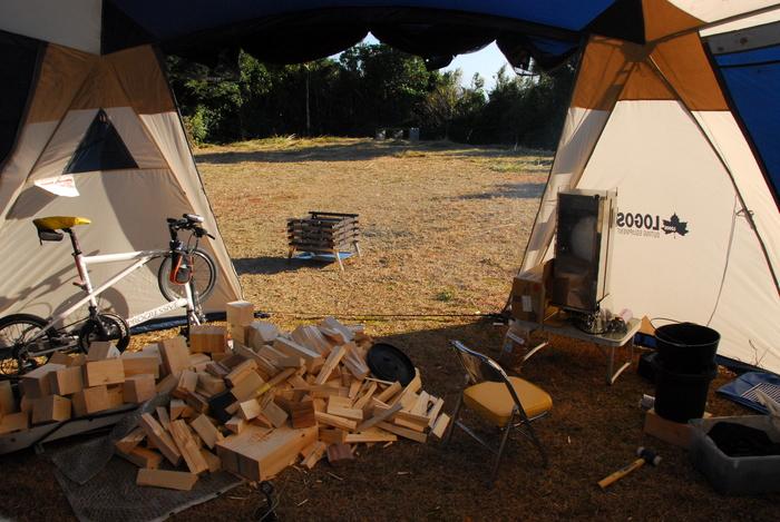 年末キャンプに行ってきました。_a0049296_18514382.jpg